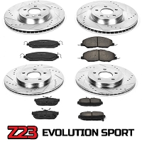 2011-2014 Mustang GT Power Stop Complete Z23 Brake Kit (Non-Brembo)