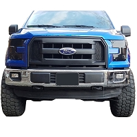 2015-2017 F150 AVS Headlight Covers (Smoked)