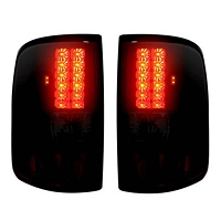 2004-2008 F-150 Recon Smoked Red LED Tail Lights