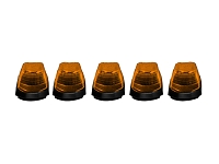 2017-2018 F250 & F350 Recon LED Cab Roof Lights - Amber (5-Piece)