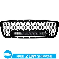 2004-2008 Ford F-150 Rigid Industries LED Grille Kit (For E-Series)