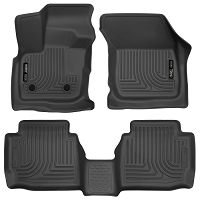 2017 Fusion Husky Liners WeatherBeater Front & Rear Floor Liners