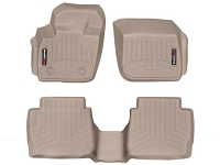 2013-2017 Fusion WeatherTech Front & Rear Floor Liners (Tan)