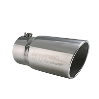 Diamond Eye Performance 4 Inch to 5 Inch Exhaust Tip w/ Logo