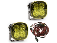 Baja Designs XL Pro Edition Wide Cornering LED Light - Amber (Pair)