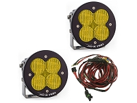 Baja Designs XL-R Pro Edition Wide Cornering LED Light - Amber (Pair)
