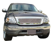 1999-2002 F150 T-Rex Upper Class Mesh Grille (Polished SS)