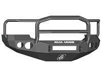 2005-2007 F250 & F350 Road Armor Stealth Lonestar Series Front Bumper w/ Round Light Ports