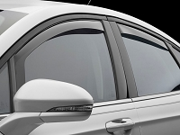 2013-2017 Fusion WeatherTech Front & Rear Side Window Deflectors (Light)