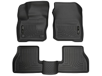 2016-2017 Focus RS Husky Liners WeatherBeater Front & Rear Floor Liners