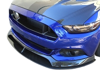 2015-2017 Mustang Anderson Composites Type-AR Carbon Fiber Front Chin Splitter