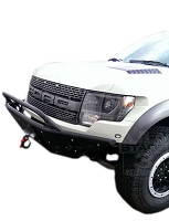 2010-2014 SVT Raptor ADD Stealth Paneled Front Off-Road Bumper with Winch