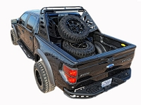 2004-2014 F150 & SVT Raptor ADD Chase Rack Lite with Tire Carrier
