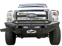 2011-2016 F250 & F350 ADD Honey Badger Storage Box & Winch Mount Front Off-Road Bumper