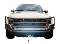 2010-2014 SVT Raptor ADD Rancher Paneled Front Off-Road Bumper for Winch