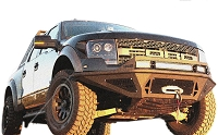 2010-2014 SVT Raptor ADD Stealth Fighter Front Off-Road Bumper with Winch