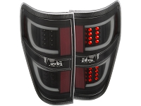 2009-2014 F150 ANZO G2 LED Taillights (Black Housing)