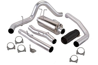2004-2008 Ford F-150 4.6L/5.4L Banks Cat-Back Exhaust System - Standard Cab 8ft. Bed (Black Tip)