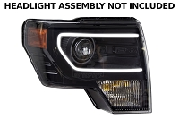 2013-2014 F150 Diode Dynamics C-Clamp Switchback LED Halo Kit for Projector Headlights