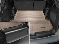 2011-2017 Explorer WeatherTech Cargo Liner w/ Bumper Protector (Behind 2nd Row) - Tan