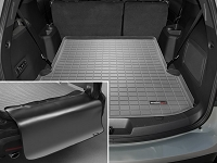 2011-2017 Explorer WeatherTech Cargo Liner w/ Bumper Protector (Behind 2nd Row) - Gray