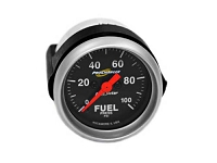 ProCharger 100 PSI Electric Fuel Pressure Gauge (Black)