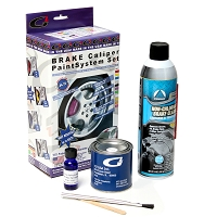 G2 Brake Caliper Paint System - Custom Ford Color (Dark Blue)