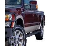 1999-2016 F250 & F350 SuperCrew Hammerhead Cab Access Running Boards (Short Bed)