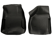 2000-2007 F250 & F350 Husky Liners Classic Style Front Floor Liners (Black)