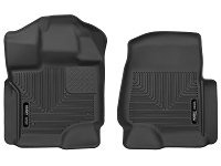 2015-2018 F150 SuperCrew Husky Liners X-Act Contour Front Floor Liners