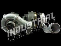 2008-2010 F250 & F350 6.4L Industrial Injection Phat Shaft Compound Turbocharger Upgrade