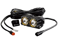 KC HiLites Dual FLEX Off-Road LED Modular Lighting System Spot Beam