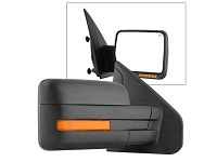 2007-2014 F150 OE-Style Replacement Mirrors with Amber Turn Signals and Puddle Lights