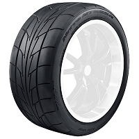 275/40R20 Nitto NT555R DOT-Compliant Competition Drag Radial Tire