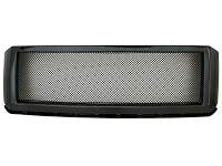 2007-2014 Expedition Packaged 2.0mm Mesh Upper Grille with Gloss Black Shell