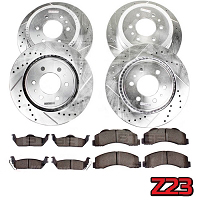 2010-2011 F150 / Raptor Power Stop Z23 Complete Brake Kit (6-Lug Only)
