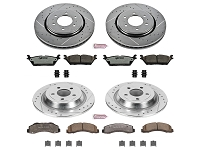 2015-2017 F150 & Raptor Power Stop Z36 Extreme Truck & Tow Complete Brake Kit (Electronic Parking Brake)