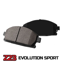 2015-2017 Mustang GT with Brembo Brakes Power Stop Z23 Evolution Sport Carbon-Ceramic Front Brake Pads