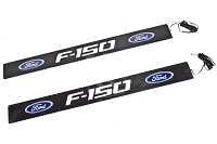 2009-2014 F150 Logo Recon Illuminated Door Sill Plates - Front Only