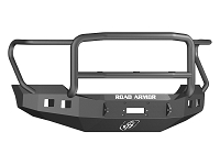 2017-2018 F450 & F550 Road Armor Stealth Lonestar Series Winch-Ready Front Bumper