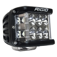 Rigid Industries D-SS Side Shooter Pro LED Light - White - Driving - Single