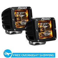 Rigid Industries Radiance Series Amber Back-Light LED Pod (Pair)