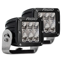 Rigid Industries D2 HD Pro LED Light - White - Driving (Pair)
