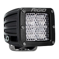 Rigid Industries Dually Pro LED Light - White - Diffused - Single