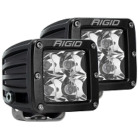Rigid Industries Dually Pro LED Light - White - Spot - Pair
