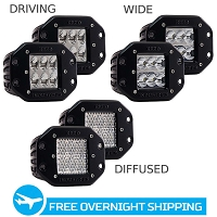 Rigid Industries D2 Pro LED Flush Mount Lights