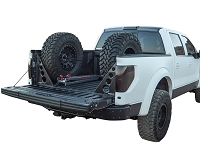 2009-2014 F150 & Raptor Rogue Racing Dual Tire Carrier with Bed Braces