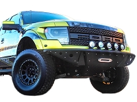 2010-2014 SVT Raptor Rogue Racing Radius Off-Road Front Bumper
