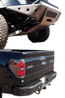 2010-2014 SVT Raptor Rogue Racing Complete Revolver Off-Road Bumper Package