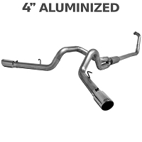 2003-2007 6.0L F250 & F350 MBRP 4 Inch Turbo Back Cool Duals Exhaust System - Aluminized